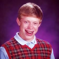 Bad Luck Meme Generator - bad luck brian 2 blank template imgflip
