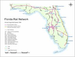 csx railroad map florida department of transportation