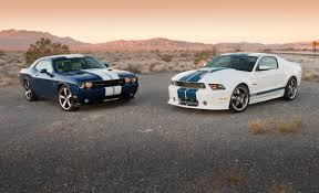dodge challenger vs ford mustang dodge challenger srt8 392 vs shelby gt350 autozilla the car