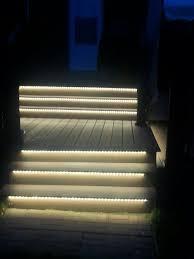 Stair Lighting by Cozy Led Deck Stair Lights 89 Led Step Deck Light Kit Odyssey Led