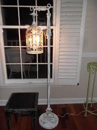 Birdcage Chandelier Shabby Chic Best 25 Farmhouse Floor Lamps Ideas On Pinterest Rustic Bedroom