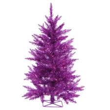 purple christmas tree purple christmas trees for less overstock