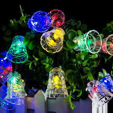 led christmas string lights outdoor lumiparty led solar fairy string lights solar outside christmas