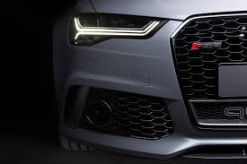 audi rs6 headlights one audi rs6 avant revealed by audi exclusive image 299174