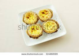 cuisine portugaise dessert dessert cuisine yumchaportugal style baked stock photo