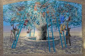 mural mile 3 tree of knowledge thirstyfish