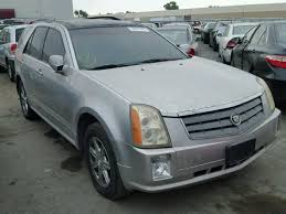 cadillac srx 2005 for sale 1gyee637450123773 2005 silver cadillac srx on sale in ca