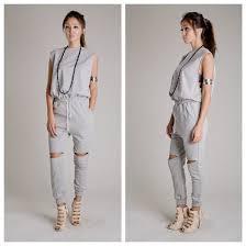 sweat suit jumpsuit jumpsuit snobbery boutique slit knee sweatsuit set wheretoget
