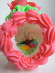 sugar easter eggs with inside panoramic sugar eggs semiswede