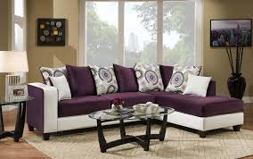 Purple Sofa Pillows by Chelsea Home Ame Implosion Purple And Demsey White 2 Piece