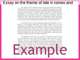 theme of fate in romeo and juliet essay essay on the theme of fate in romeo and juliet research paper service
