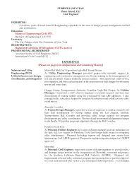civil engineering experience resume resume for pierre handl pe
