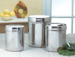 kitchen canisters stainless steel stainless steel canisters with glass lids extravagant amazon com