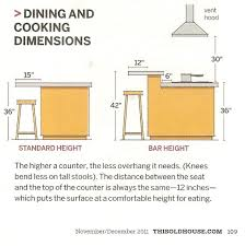 kitchen island bar height amazing standard height of bar kitchen island height kitchen with
