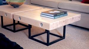 How To Build Outdoor Furniture by Modern Live Edge Waterfall Coffee Table How To Build