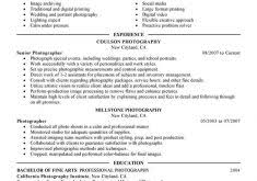 photography resume examples download employee relations manager sample resume