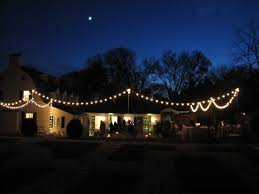 Commercial Patio String Lights by Outdoor Light Outdoor Frosted Globe String Lights Indoor
