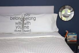 Couples Bed Set Couples Pillowcase Sets Pillowcase Set