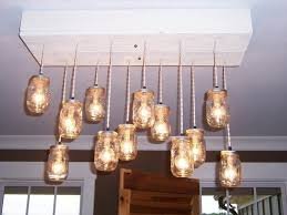 Light Bulb Chandelier Diy Diy Pallet Chandeliers With Mason Jars Recycled Things