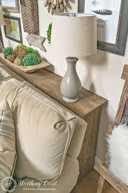 rustic home decor diy sofa marvelous diy sofa table pallet entry cute rustic home