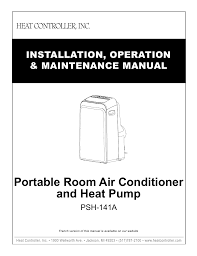 air conditioning operation maintenance manual air conditioner