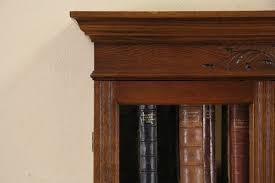 Chinoiserie Secretary Desk sold victorian eastlake 1885 antique oak cylinder roll top