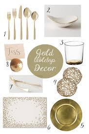 Gold Tabletop Decor Shoes f Please