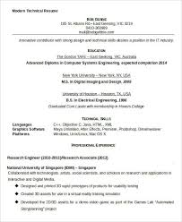 Technical Resumes Examples by 29 Resume Examples Free U0026 Premium Templates