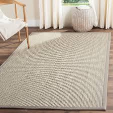 Wool Sisal Area Rugs Safavieh Fiber Wool Sisal Grey Area Rug 4 X 6 Ebay