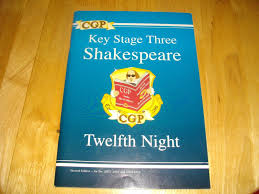 cgp key stage 3 sats english shakespeare twelfth night age 11 14