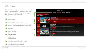 wwe network windows 10 application on behance