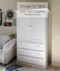 sewing armoire edeenut creates sewing and craft room storage ideas
