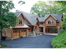 rustic stone and log homes modern stone and log homes taos luxury mountain home plan s house plans and more tropical homes