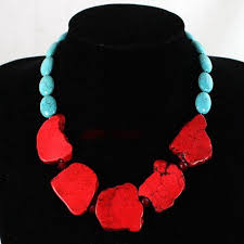 color stone necklace images Mixed color stone fashion necklace bohemian bliss jpg