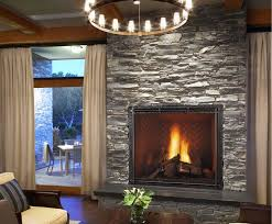 simple design stone fireplace facade do it yourself stone for
