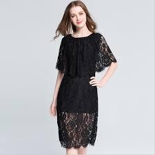 super plus size series sleeveless eyelash lace shawl one piece