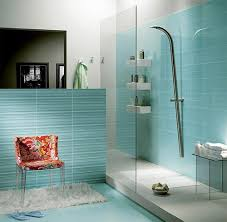glass bathroom tile ideas blue glass bathroom shower tiles jangbiro