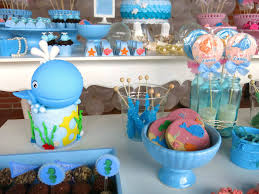 Under The Sea Decoration Ideas Kara U0027s Party Ideas Under The Sea Themed Birthday Party