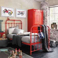 inspiration londres chambre d u0027ado red beds bed frames and