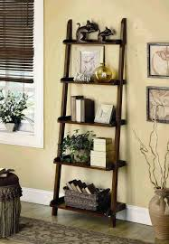 Ikea Leaning Ladder Shelf Decorating Roma Oak Leaning Ladder Shelf For Cozy Home Furniture