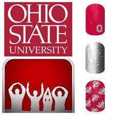 jamberry naills the ohio state nail art show me your spirit