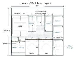 mud room dimensions terrific laundry room design dimensions images simple design home