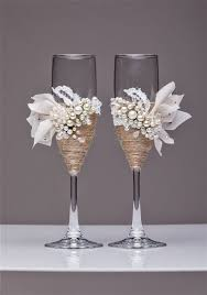 wedding glasses rustic wedding glasses chagne flutes burlap glasses rustic