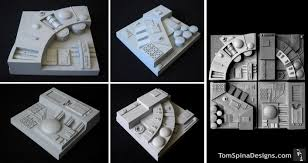 death star tiles for star wars custom home theater tom spina