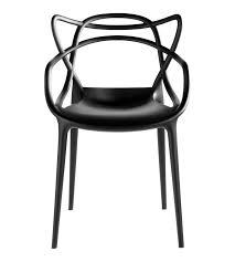 chaises stark philippe starck rend hommage à trois icônes du design avec cette