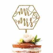 mr mrs cake topper geometric mr mrs cake topper z create design