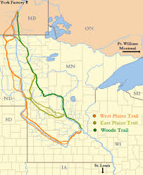 minnesota on map tracing the missing stories of the river ox cart trail minnpost