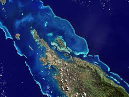 Great Barrier Reef Map New Caledonian Barrier Reef Wikipedia