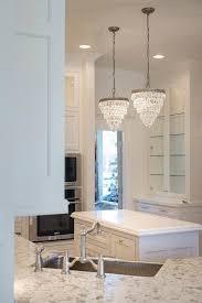stunning small kitchen chandelier pottery barn clarissa crystal