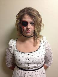 Scary Dolls Costumes Halloween Creepy Doll Costume Missing Eye Halloween Halloween